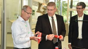 Congressman Loudermilk visits Novelis Global Research & Technology Center