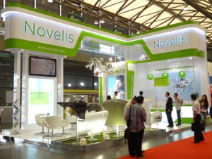 Novelis China showcases aluminum vehicle body structures at China Auto Parts and Service Show