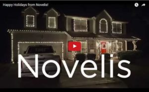 Happy Holidays from Novelis