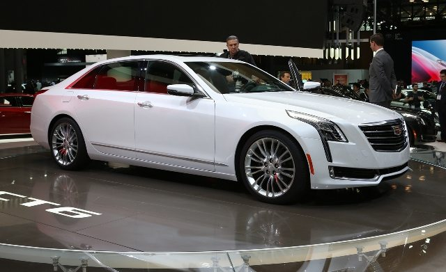 The new mixed material construction featured in the Cadillac CT6 represents a first of its kind for GM in North America and China. Image source: Care and Driver