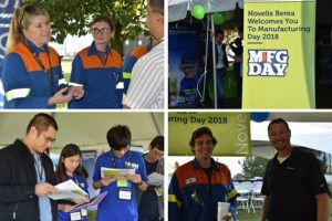 Novelis Opens Its Doors on Manufacturing Day