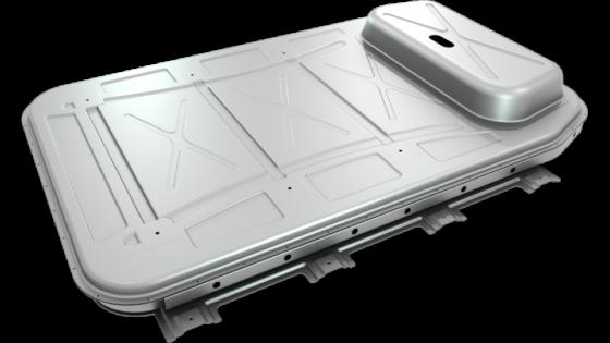 Novelis Electric Vehicle Battery Enclosure
